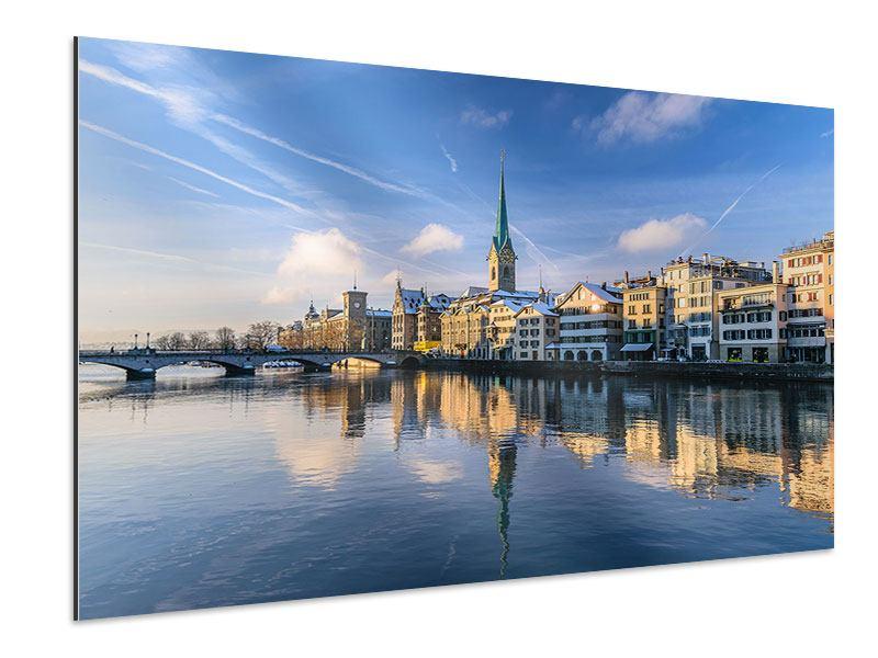 Aluminiumbild Zürich