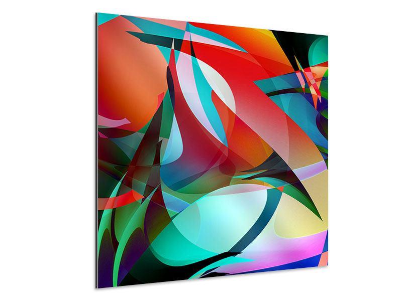 Aluminiumbild Paint