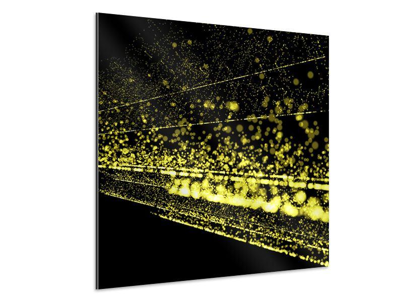 Aluminiumbild Abstrakte Lichter