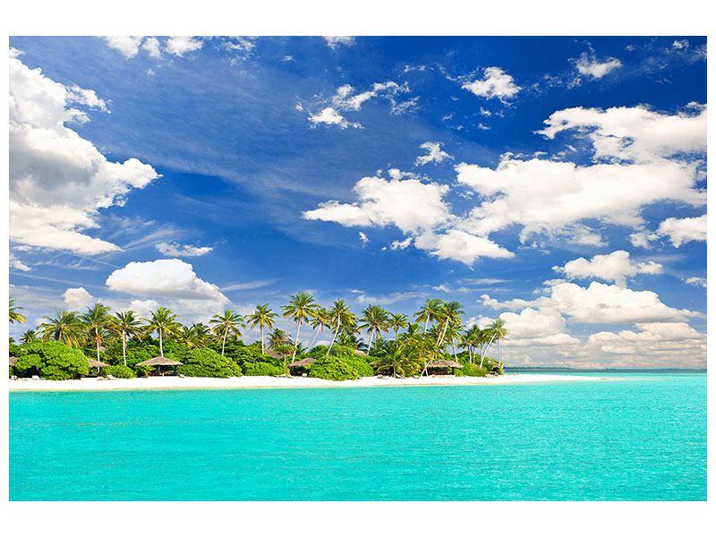 Aluminiumbild Meine Insel