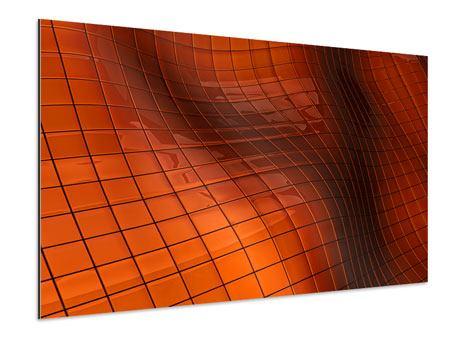 Aluminiumbild 3D-Kacheln