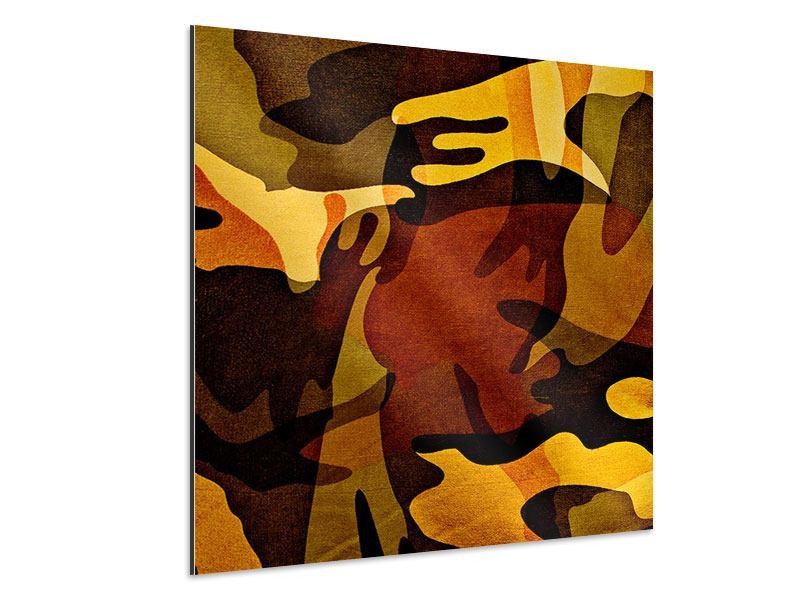 Aluminiumbild Military