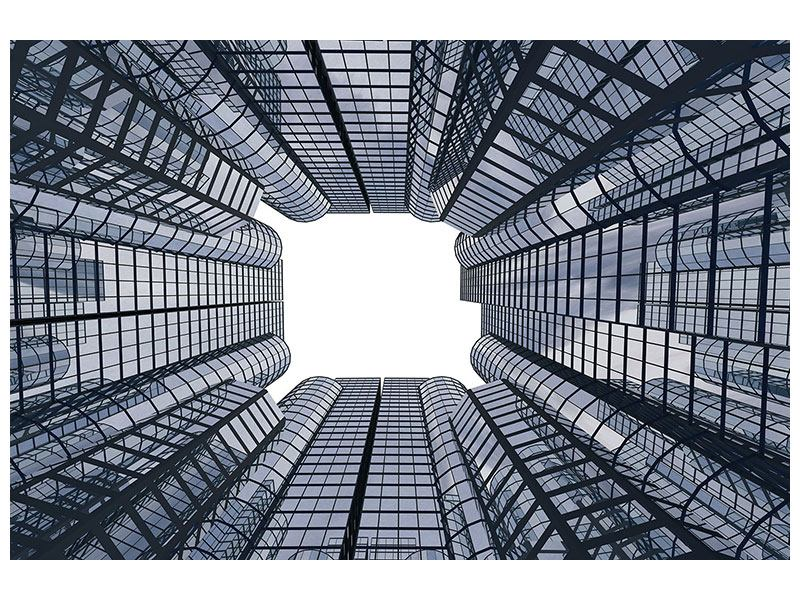 Aluminiumbild Besondere Perspektive