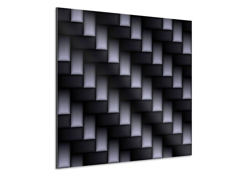 Aluminiumbild 3D-Treppen