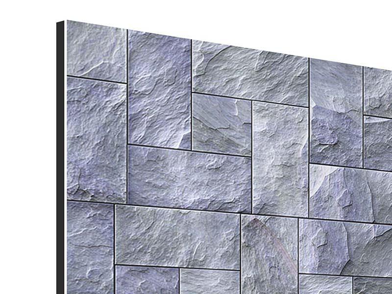 Aluminiumbild Schiefer