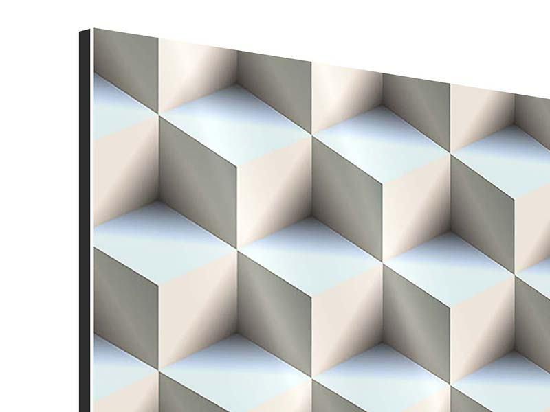 Aluminiumbild 3D-Polytop