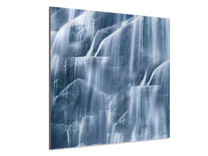 Aluminiumbild Waterfall