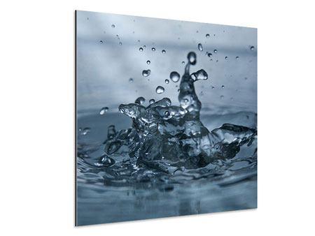Aluminiumbild Wassertropfen