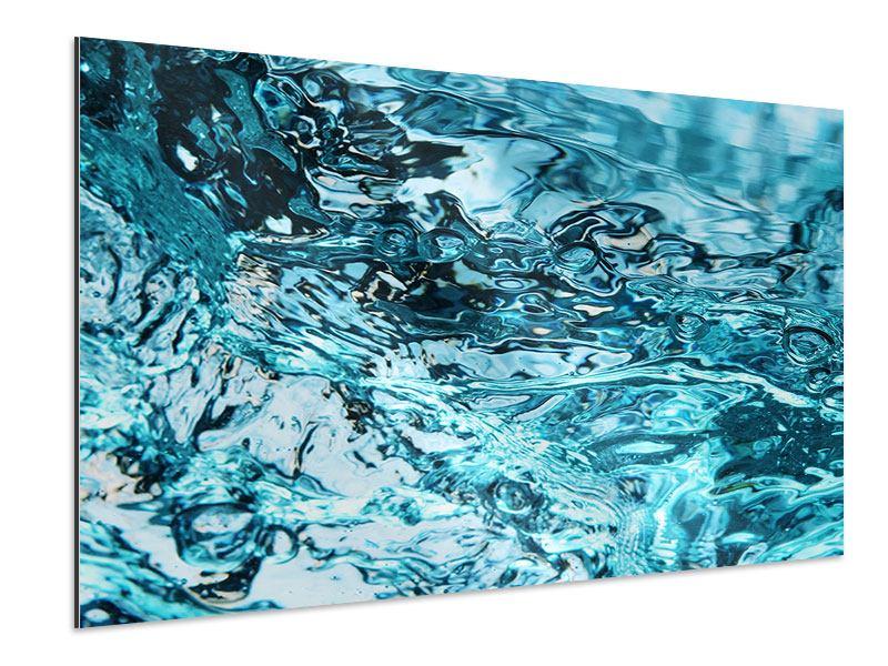 Aluminiumbild Schönheit Wasser
