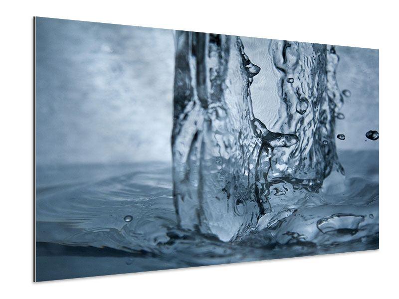 Aluminiumbild Wasserdynamik