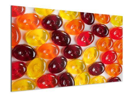 Aluminiumbild Bonbons