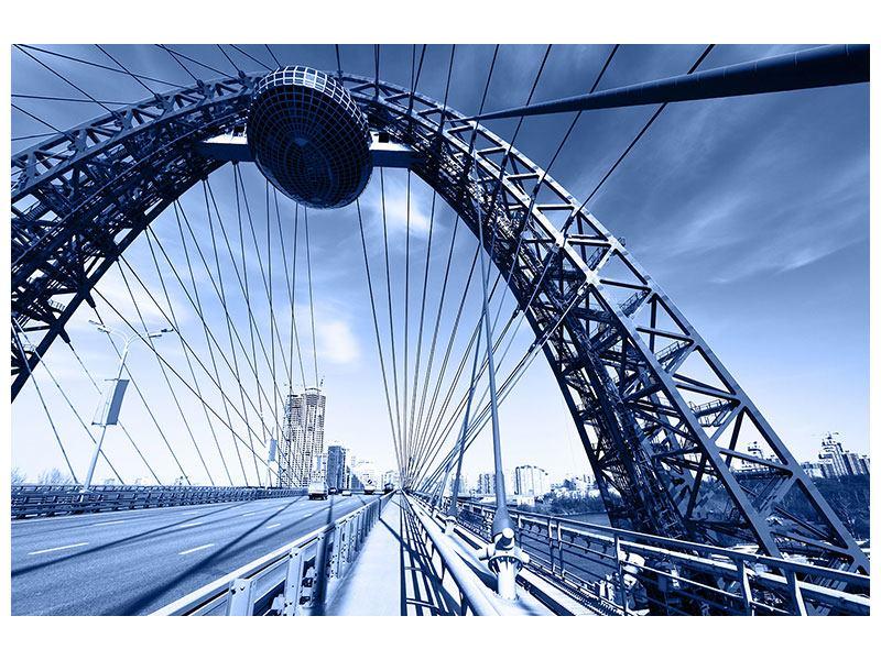 Aluminiumbild Schiwopisny-Brücke