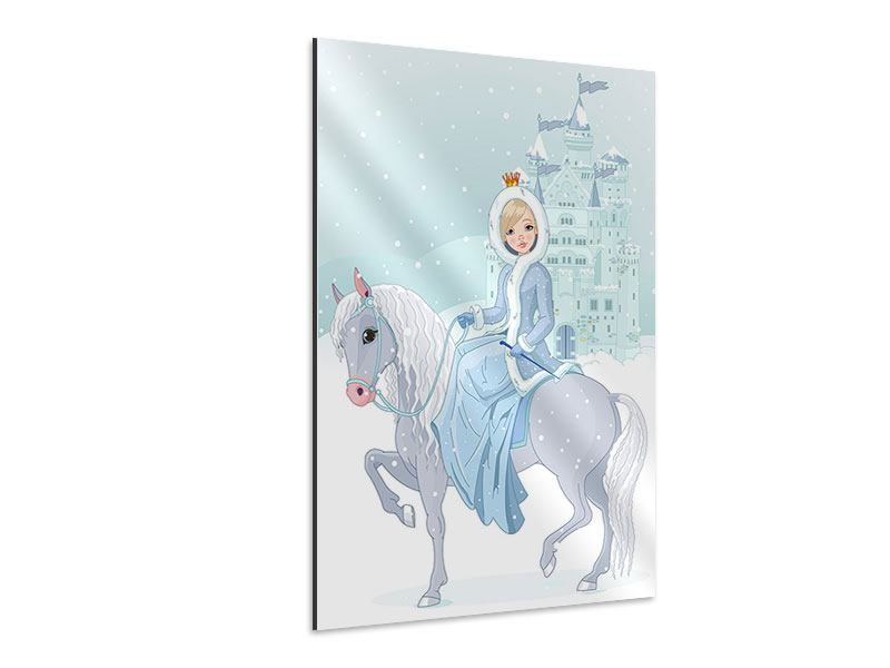 Aluminiumbild Prinzessin