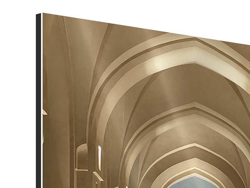 Aluminiumbild Königlicher Palast in Maskat