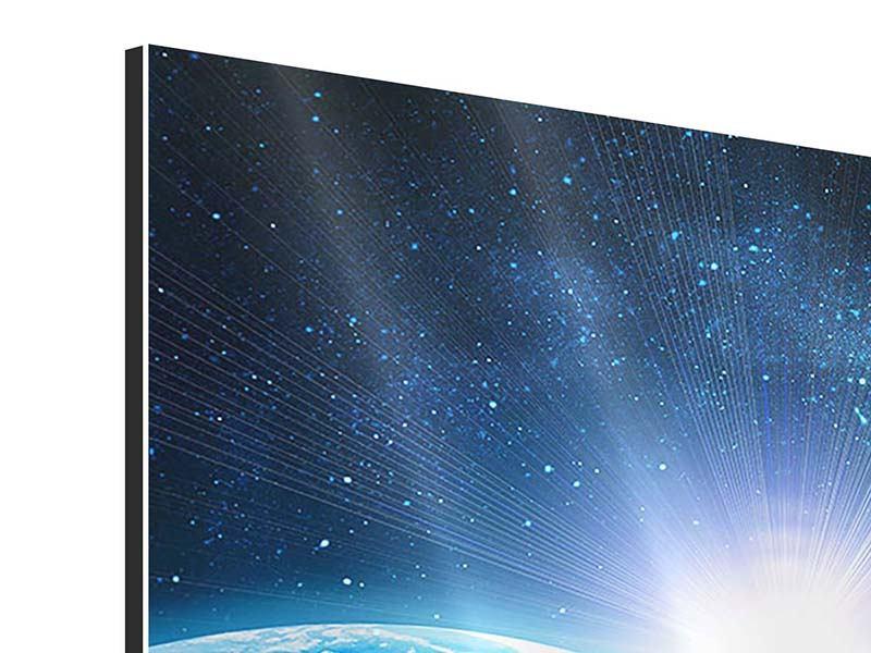 Aluminiumbild Galaxien