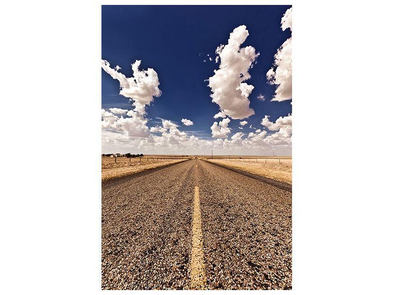 Aluminiumbild On The Road