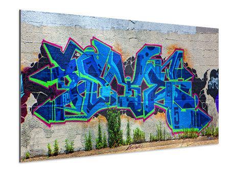Aluminiumbild Graffiti NYC