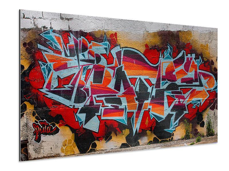 Aluminiumbild New York Graffiti