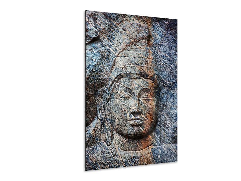 Aluminiumbild Buddhistischer Tempel