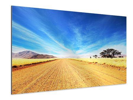 Aluminiumbild Eine Landschaft in Afrika