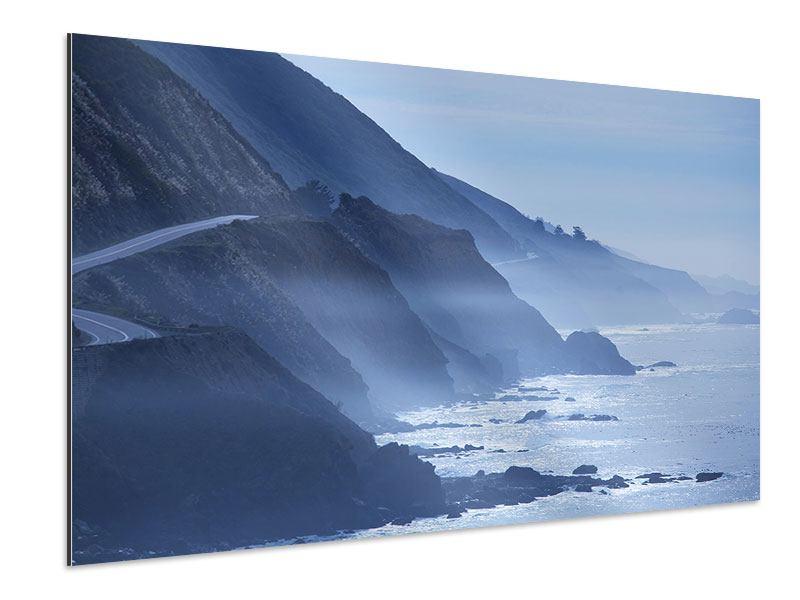Aluminiumbild Bewegung im Wasser