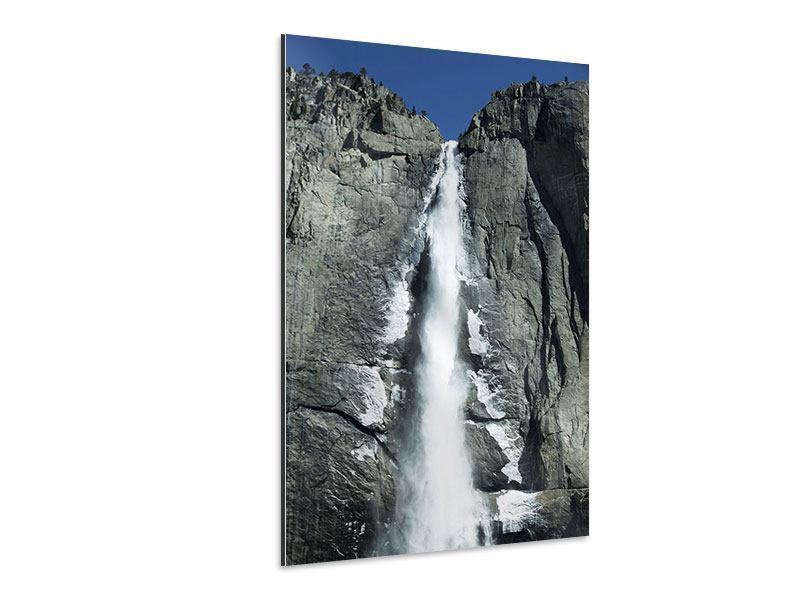 Aluminiumbild Wasserfall Yosemite