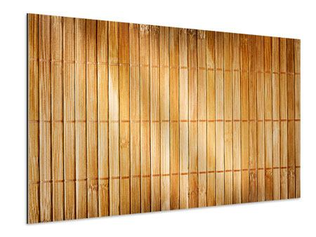 Aluminiumbild Bambusrohre