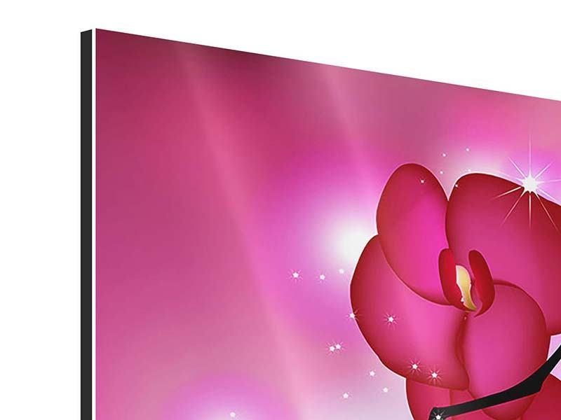 Aluminiumbild Orchideenmärchen