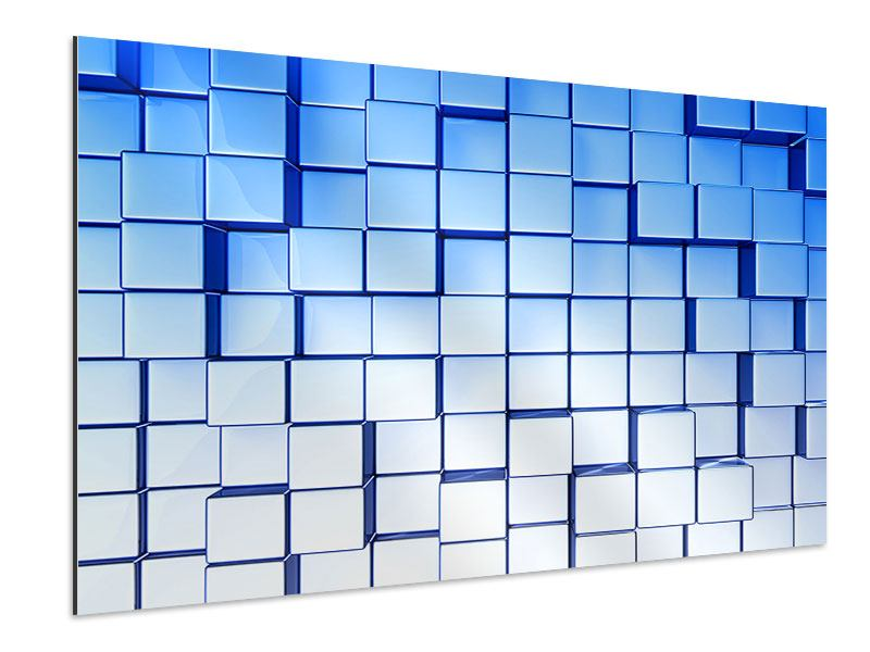 Aluminiumbild 3D-Symetrie