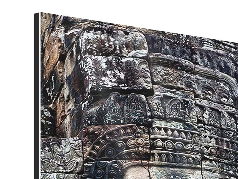 Aluminiumbild Buddha Angkor Thom