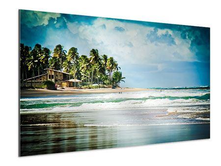 Aluminiumbild The Beach