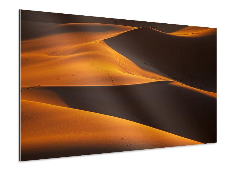 Aluminiumbild Wüstensand