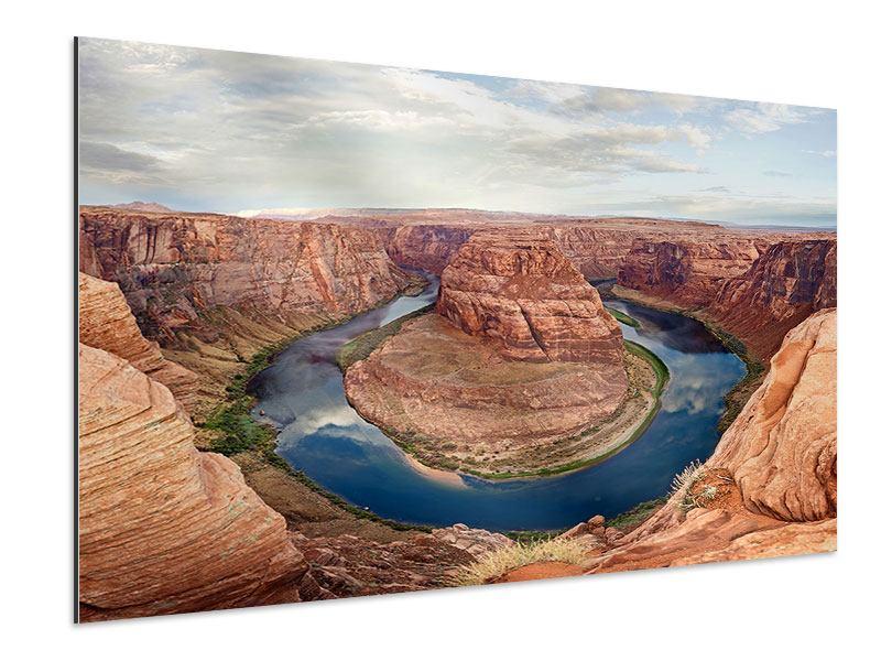Aluminiumbild Horseshoe Bend