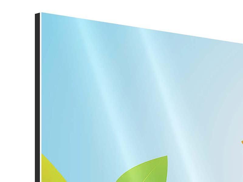 Aluminiumbild Dschungel