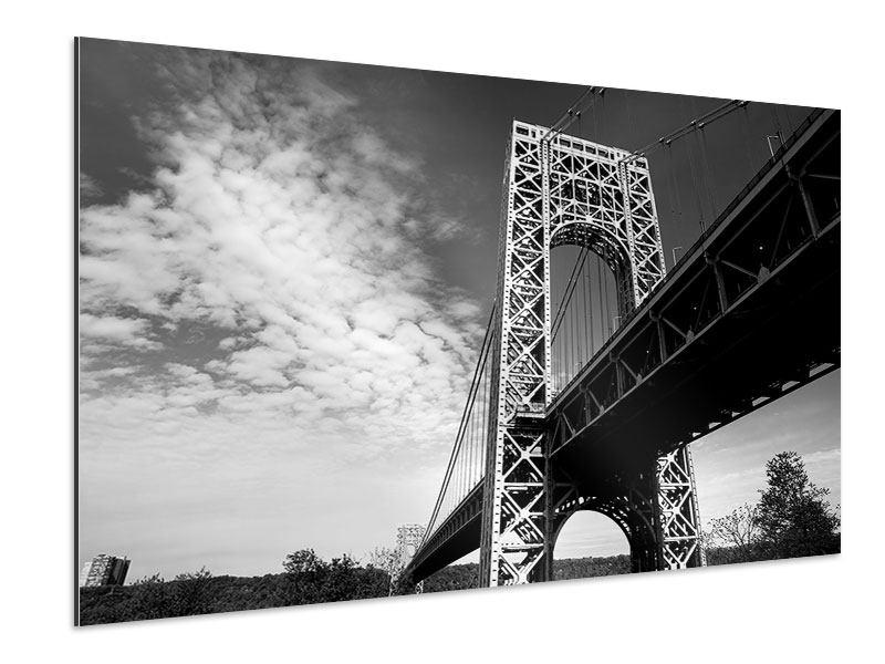 Aluminiumbild Georg-Washington-Bridge
