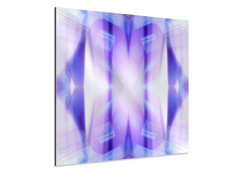 Aluminiumbild Abstrakte Sicht
