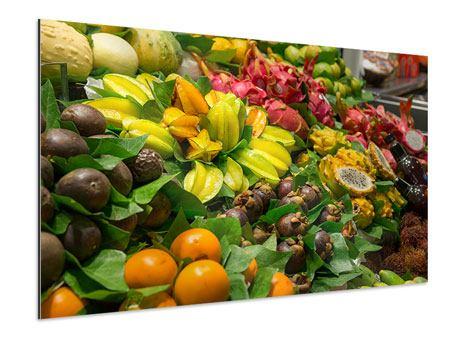 Aluminiumbild Früchte