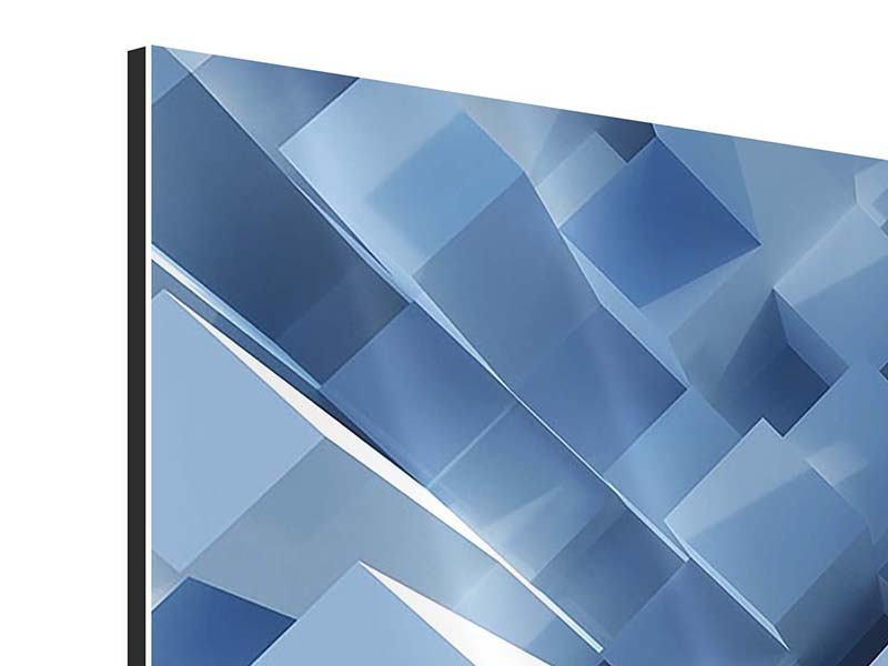 Aluminiumbild 3D-Säulen