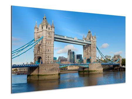 Aluminiumbild Die Tower Bridge