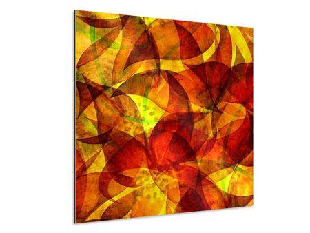 Aluminiumbild Abstraktes Gemälde