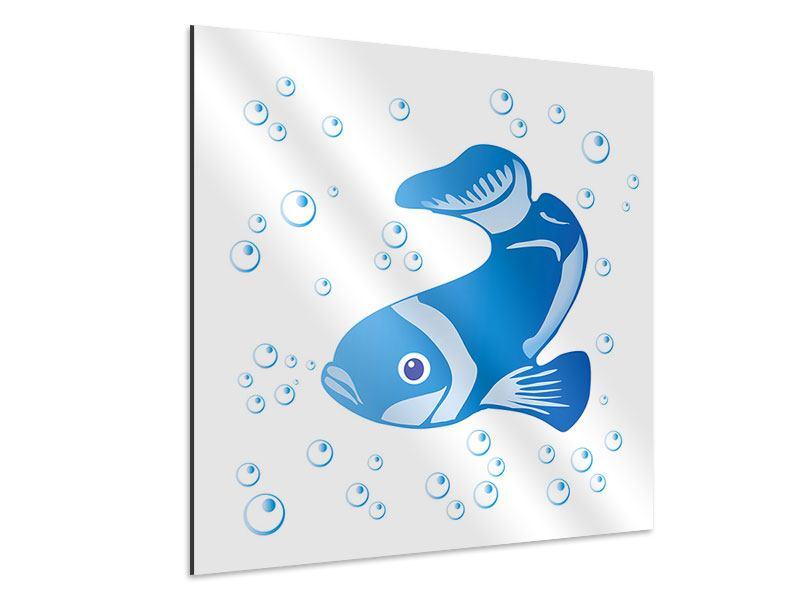 Aluminiumbild Fischi