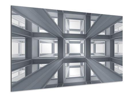 Aluminiumbild Räume