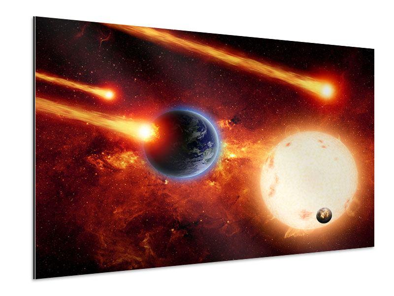 Aluminiumbild Der Kosmos