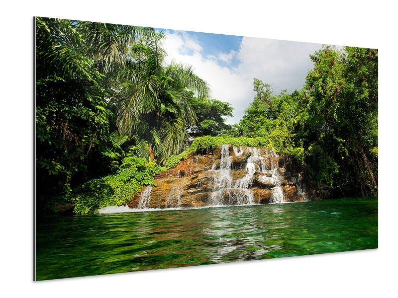 Aluminiumbild Lagune