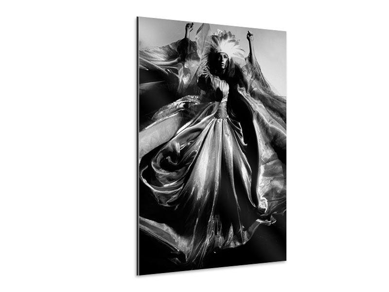 Aluminiumbild Model Art