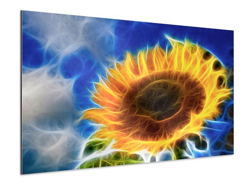 Aluminiumbild Der Sonne entgegen
