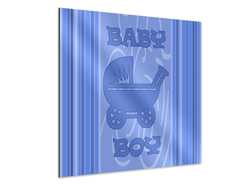 Aluminiumbild Baby-Boy