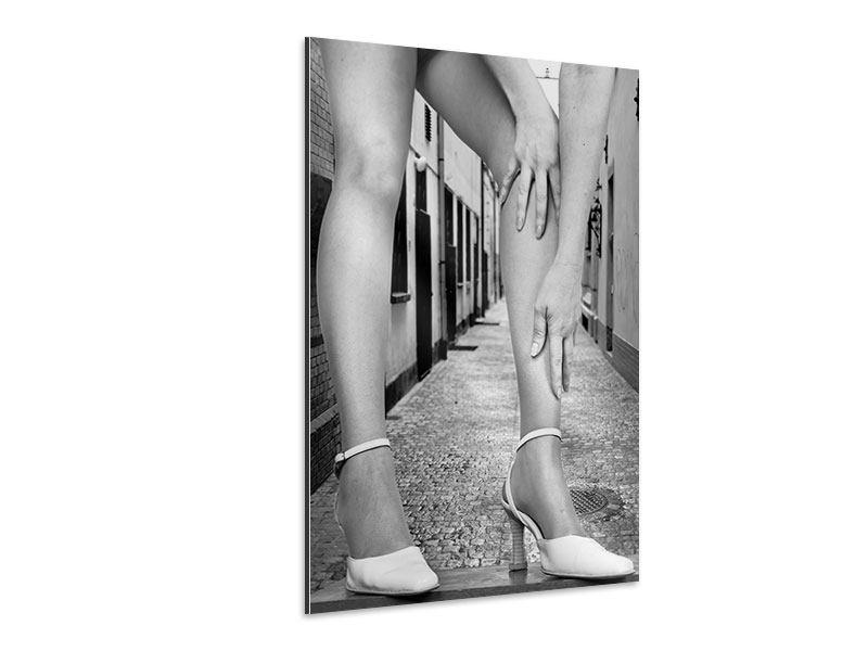 Aluminiumbild Legs