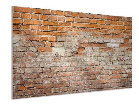 Aluminiumbild Alte Klagemauer