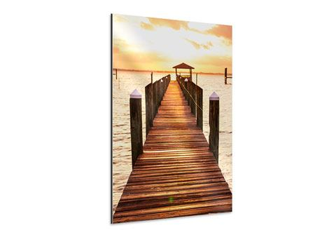 Aluminium Print Footbridge